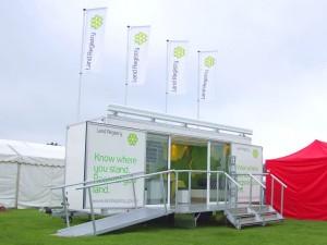 6m bespoke exhibition trailer