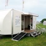 6m mungo exhibition trailer with pod