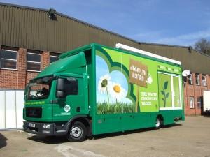 7.5T 6m exhibition truck